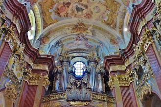 Photo: Kloster Melk: Siftskirche St. Petrus und Paulus: Orgel
