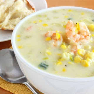 Creole Seasoned Shrimp Chowder Recipe