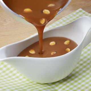 Pflaumen-Sherry-Soße