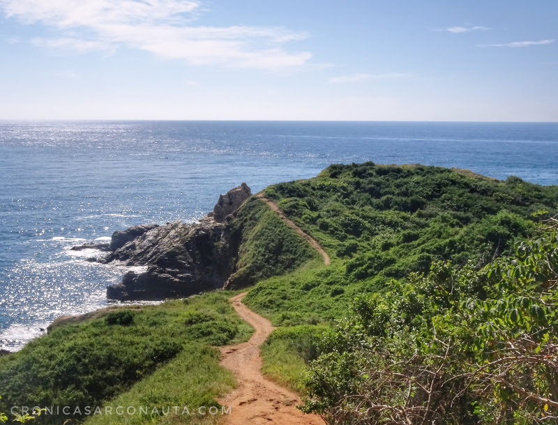 camino a Punta Cometa