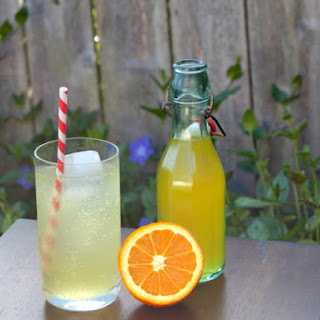DIY Orange Soda.