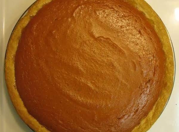 My Easy Pumpkin Pie