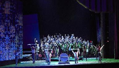 Photo: Wiener Staatsoper: TURANDOT. Inszenierung: Marco Arturo Marelli. Premiere 28.4.2016. . Copyright: Wiener Staatsoper/ Michael Pöhn