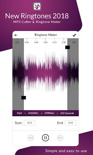 new ringtones 2018 mp3 cutter & ringtone maker app (apk) free
