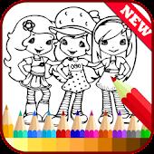 Drawing app - Strawberry Girls