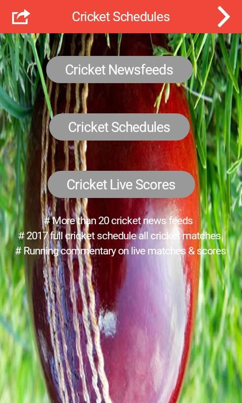 Cricket Schedule 2017 & Scores