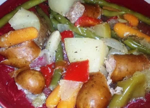 Crockpot Chicken Sausage Harvest Recipe