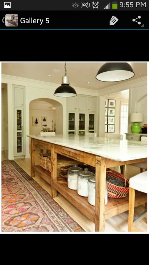 Kitchen island ideas android apps on google play for Kitchen ideas app