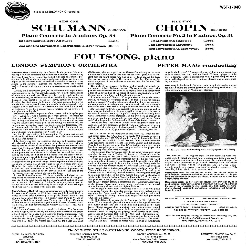 Frédéric Chopin, Robert Schumann