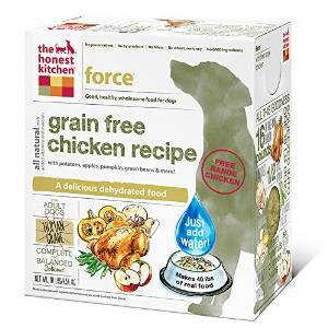 The Honest Kitchen Force Dog Food - Grain Free, Chicken, 10lb