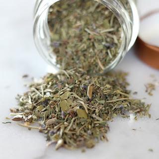 Homemade Herbs de Provence.
