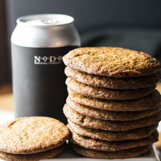 Russian Imperial Bourbon Aged Stout Gingersnap Cookies Recipe