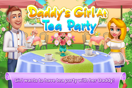 Daddy's Girl at Tea Party 1