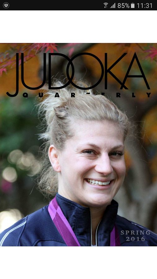 Judoka Quarterly- screenshot