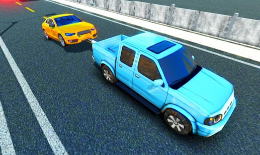 Tow truck driver transporter 3d simulator - náhled