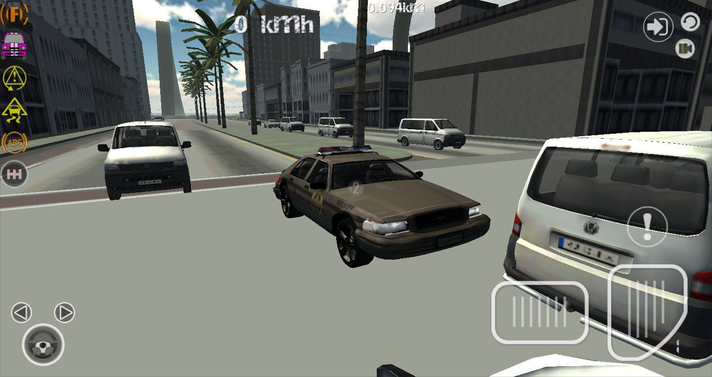 Police car driver simulator 3d android apps on google play for Car paint simulator