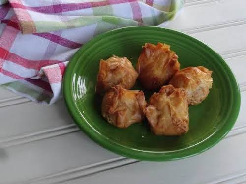 """Bacon Blue Cheese Puffs""""These make a good savory snack for tea or..."""
