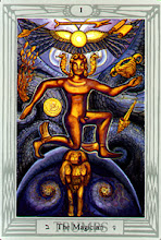 Photo: .I. The Magician - O Mago Thoth Tarot Crowley