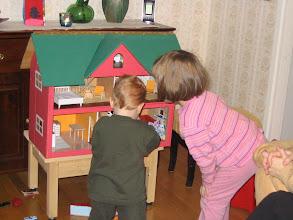 Photo: 5 b. Amandan taloa testataan