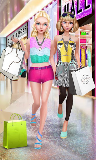 Fashion Doll: Shopping Day SPA u2764 Dress-Up Games 2.5 screenshots 1