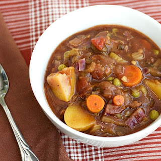 Hearty Vegetable Stew.