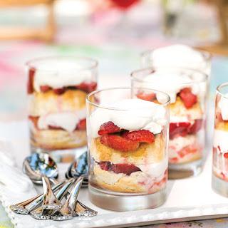 Strawberry-Lemon Shortcake Parfaits.