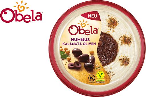 Bild für Cashback-Angebot: Obela Hummus Kalamata Oliven - Obela
