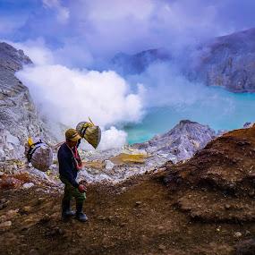 Ijen Crater by Budi Wahono - People Street & Candids