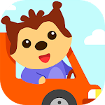 Car game for toddlers - kids racing cars games Icon
