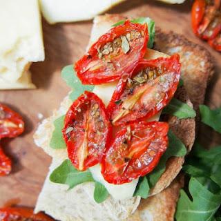 Slow roasted tomatoes #SundaySupper.
