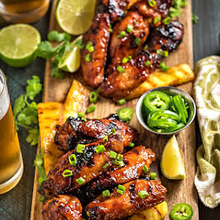 Hawaiian Chicken Wings Recipes.