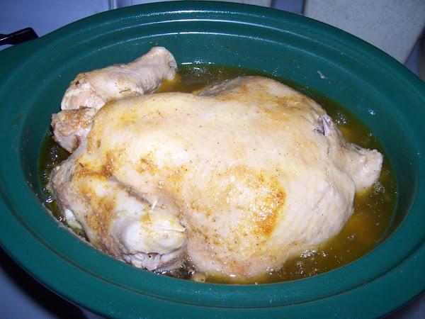 Delicious ! Crock Pot Hen A Four Pound Hen Recipe