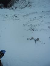 Photo: V S steni Brane pa je že prava zima.