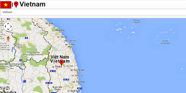 Vietnam map android apps on google play vietnam map screenshot thumbnail sciox Image collections