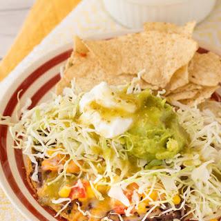 Supreme Tostadas with Easy Corn Salsa
