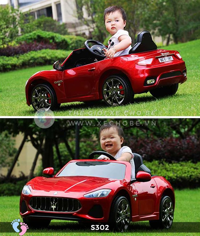 Ô tô cho trẻ em cao cấp Maserati S-302 2