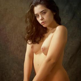 Julia by Barry Blaisdell - Nudes & Boudoir Artistic Nude ( studio, sexy, model, nude, woman, beautiful, portrait )