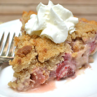 French Strawberry Rhubarb Pie