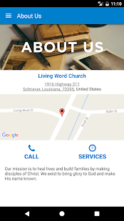 Living Word Church- screenshot thumbnail