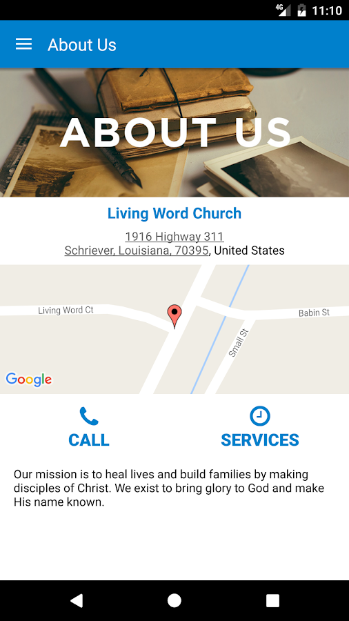 Living Word Church- screenshot