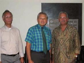 Photo: Rein, Dries en Harold tijdens het interview met Dries