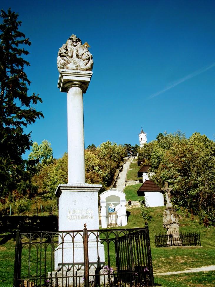 Magyarpolány - Szentháromság-szobor