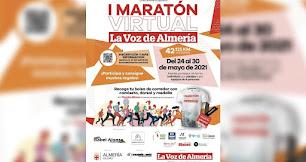 El cartel de la Maratón Virtual de LA VOZ.