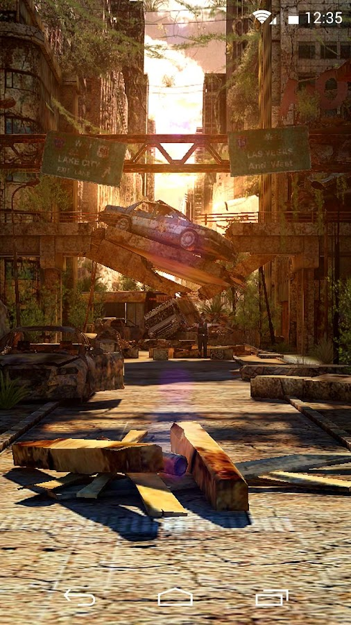 Apocalypse 3D LWP - screenshot