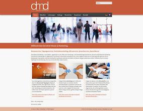 Photo: Referenz Webdesign: dmd Messe & Marketing (HTML5/CSS3, WordPress)