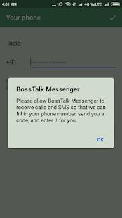 BossTalk Messenger - náhled