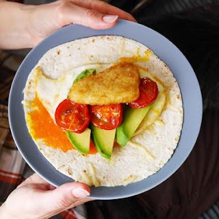 The Vegetarian Breakfast Wrap