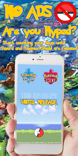 Pokèmon Sword and Shield Countdown ADFree Screenshot