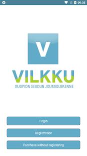 Vilkku -mobile ticket - náhled
