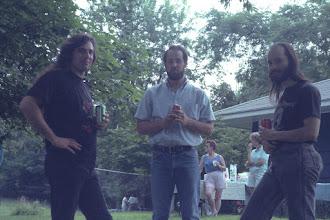 Photo: Sandro Wallach, Frank Archambeault, and Eric Luce